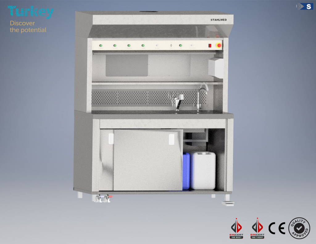 Stahlmed Laboratory Systems   Grossing Workstation