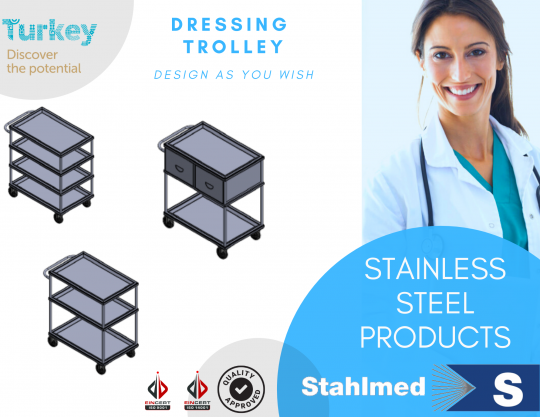 Dressing Trolley - STAHLMED